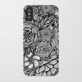 Peony Fascination iPhone Case