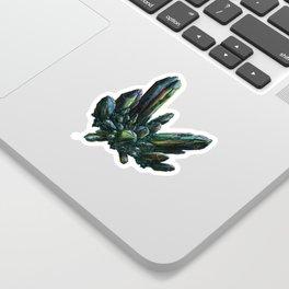 Aqua Aura Quartz Sticker
