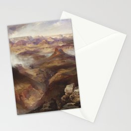 Grand Canyon of the Colorado River by Thomas Moran Stationery Cards