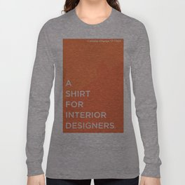 BDFD - Interior Designer Long Sleeve T-shirt