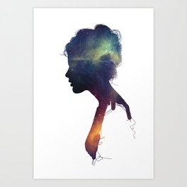 Stellar Girl Art Print