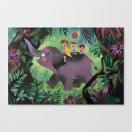 Tralump Canvas Print