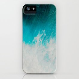 Abstract ocean iPhone Case