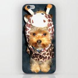 Dog   Happy Giraffe   Yorkie Puppy   Dogs   Puppies   Pets iPhone Skin