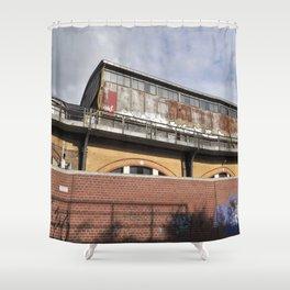 Tube Station - Berlin Shower Curtain