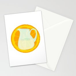 Cool Orangeade Stationery Cards