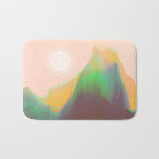 Mountain Heat Bath Mat