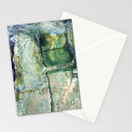 Water Damaged Photo No. 6 Stationery Cards