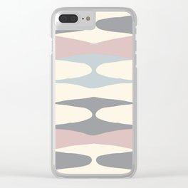 Zaha Pastel Clear iPhone Case