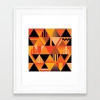 pumpkin Framed Art Prints featuring pumpkin by Gray