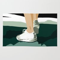feet Area & Throw Rugs featuring Feet by Berta Merlotte