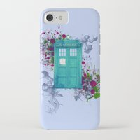 doctor who iPhone & iPod Cases featuring Doctor Who by Laain Studios