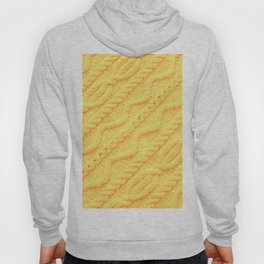 Marigold Cableknit Sweater Hoody