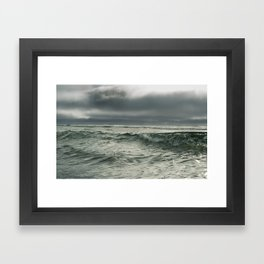Horizon Lines Framed Art Print