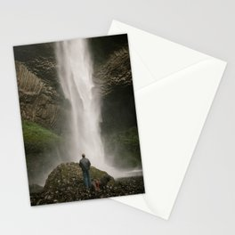Latourell Falls // Columbia River Gorge, Oregon Stationery Cards