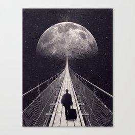 Space Trip Canvas Print