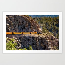 DSNG On The High Line In The San Juan Mountains Art Print