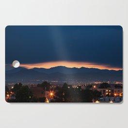 Mount Evans Sunset Cutting Board