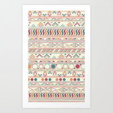tribal Print Art Print
