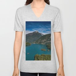 Lake Diablo Unisex V-Neck