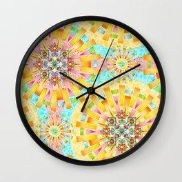 South Beach Summer Wall Clock