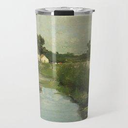 Summer Day By Johan Hendrik Weissenbruch   Reproduction Travel Mug