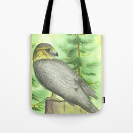 Merlin Falcon Tote Bag