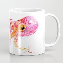 Bright Pink Octopus Coffee Mug