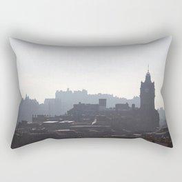 View of Princes Street from Calton Hill 1 Rectangular Pillow