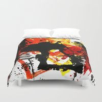 into the wild Duvet Covers featuring Wild by Littlefox