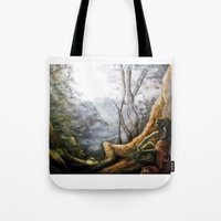 elf Tote Bags featuring Elf by Cassie's Wonderland