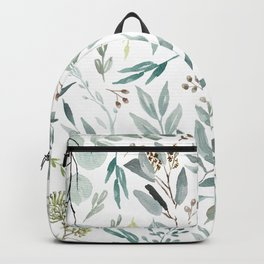 Eucalyptus pattern Backpack