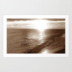 gray water Art Print