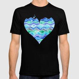 A Sea of Love (blue) T-shirt