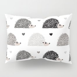 Hedgehog Love Pillow Sham