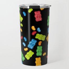 Jelly Beans & Gummy Bears Explosion Travel Mug
