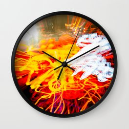Lights III Wall Clock