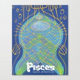 Pisces Print Canvas Print