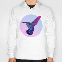 hummingbird Hoodies featuring Hummingbird by jenkydesign