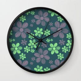 Pattern #21 Wall Clock
