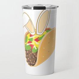 Easter Bunny Ears Mexican Taco Travel Mug