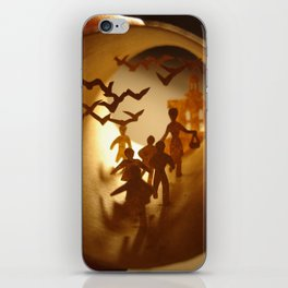 """""""The Birds"""" Alfred Hitchcock (""""Les oiseaux"""" Alfred Hitchcock) iPhone Skin"""