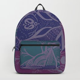 Mandala Drawing Backpack