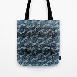 Rainy Day Dragonflies Tote Bag