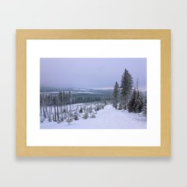 Snow 2.1 Framed Art Print
