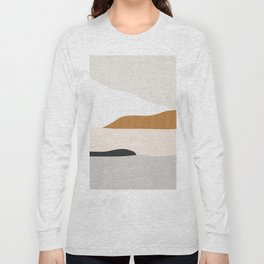 Minimal Art Landscape 2 Long Sleeve T-shirt