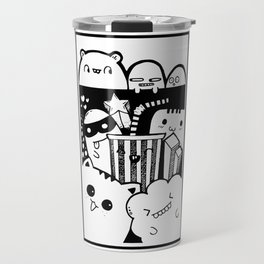 Marque page doodle 1 Travel Mug