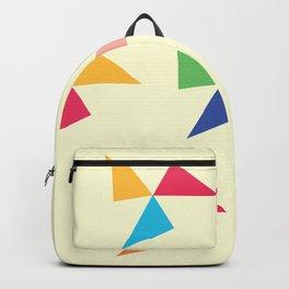 Colorful geometric pattern III Backpack