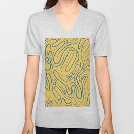 There's Always Gold Through Life's Pathways Unisex V-Neck