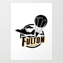 Fulton Recovery Service Art Print